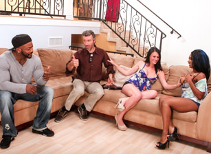 Interracial Swingers #04, Scene #03