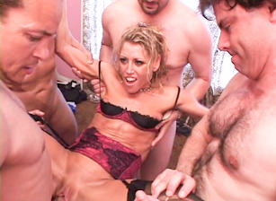 97 Guy Double MILF Cream Pie, Scene #01