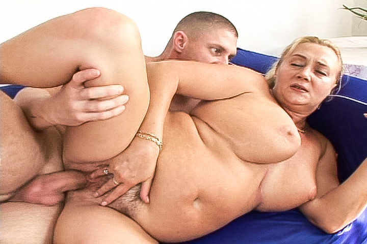 Sexy granny Sharon Lane gets fucked hard