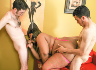Big Black Gang Bang #03, Scene #01