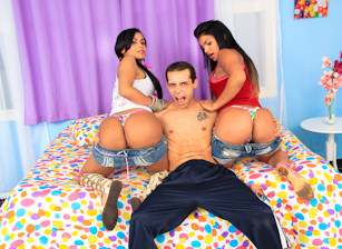 Beatrice Velmont, Bruna Butterfly And Max Scar, Scene #01