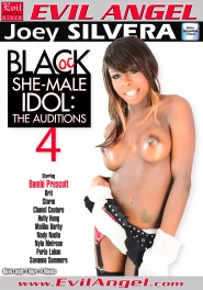 Black Shemale Idol - The Auditions #04 DVD Cover