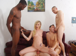 Bi Forced Cuckold Gang Bang #02 - Part 01, Scene #01