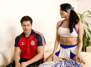 Transsexual Cheerleaders #14, Scene 2