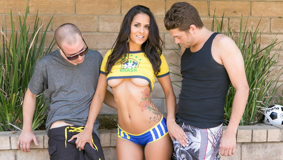 Alexis Texas Anal Threesome