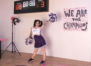 Vampire Cheerleaders BTS, Scène 1