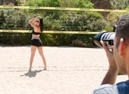 BTS-Volleyball Mishap