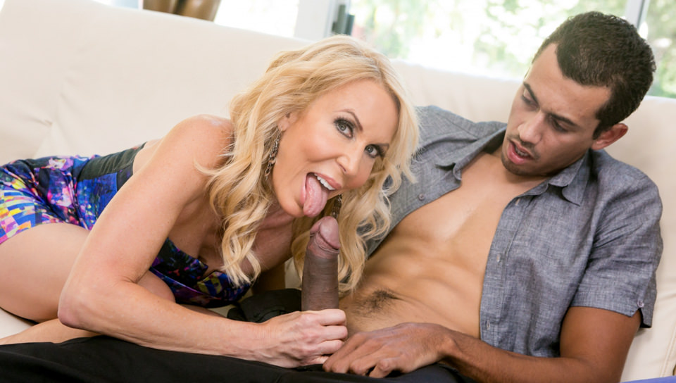 Hot Blonde Loves A Black Dick Inside Of Herself