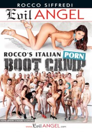 Rocco's Italian Porn Boot Camp DVD Cover