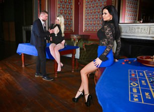 Casino erotica tamara grace jasmine jae ben kelly. Threesome sex scene 2 hotties to ride one great and violent dick!