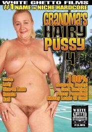 Grandma's Hairy Pussy #04 DVD