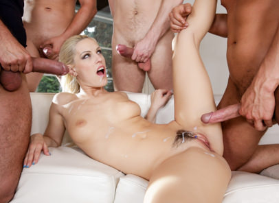 Cumshot4 on 1 gang bangs 06 tarzan neeo steve q thomas lee bara brass blanche bradburry chrissy fox. Exciting Bara, Blanche and Chrissy get showered with hot cum.