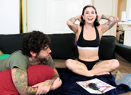 Live webcam archives episode 3 joanna angel small hands. Joanna Angel and Small Hands do the deed in a previously recorded live sex show. Watch brand new live streams every Wednesday at 7:30 PM PST.