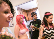 Bts episode 68 joanna angel tommy pistol proxy paige vera drake romance amber ivy. Proxy Paige and Amber Ivy are in love and they take pictures of each others wet little pussies for funsies. We look over some hot new footage of bad girl Romance, and she literally got to have a girl fight with me - a pious and saintly 'new girlfriend' to her beau. Vera Drake makes out with Proxy's thick booty. More behind the scenes looks at Proxy's outrageous butt stuffing scene, and a topless interview with Romance about what's new in life! I am truly hashtag-blessed to be surrounded by such appealing sluts all the time.