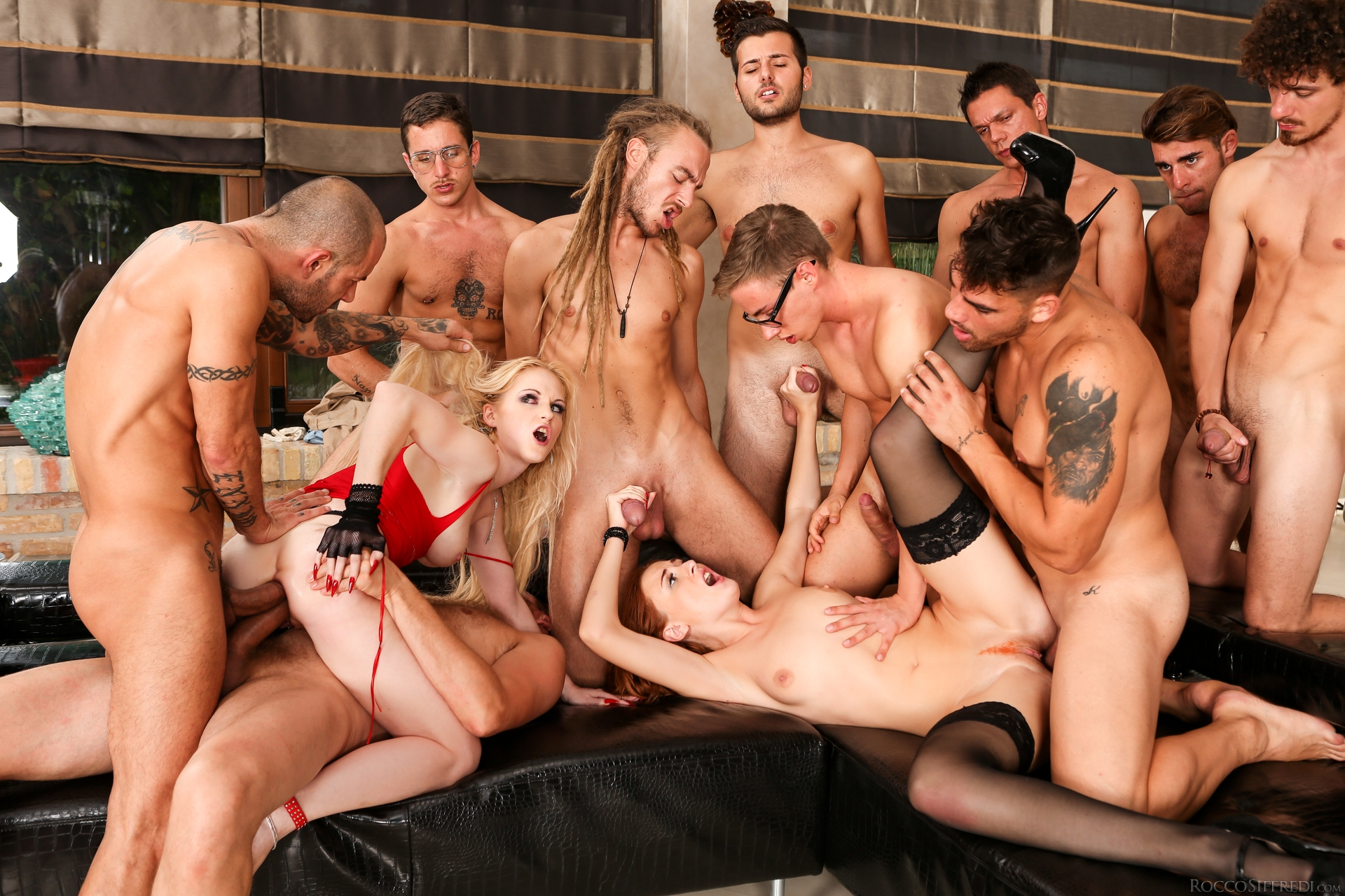 gruppensex party