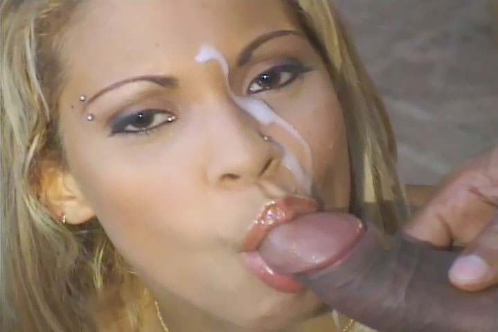 Pierced, big titte babe Alicia enjoys in big, meaty pole