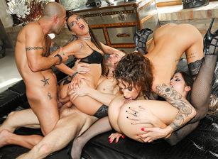 Rocco Siffredi Hard Academy, Scene #04