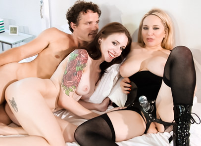 Download BTS-Fucking Teens - Aiden Starr & Anna De Ville & Robby Echo