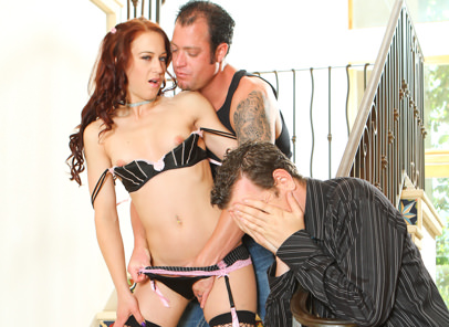 Adulterous affairs 04 jenner cheyenne jewel. Whore Cheyenne Jewel fucks strange penish in front of her man.
