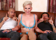 Double teaming my stepsister dylan phoenix small hands xander corvus dylan phoenix. Xander and Small Hands get into a brotherly quarrel about which twin has the bigger dick. The only way to decide was to ask their spunky stepsister Dylan Phoenix, who was doing a horny lingerie webcam show at the time, to judge who had the largest member. She agreed and realized the proper way to determine this was by screwing both of them, and measuring while taking turns doing tool pushups into her vagina and mouth as they enjoyed her incredible curves in their incestuous threesome! They both leave huge loads on her juicy ass, but who will be the winner