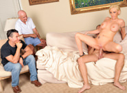 Lifestyles of the cuckolded 09. Hot Casey gets deep ass pounding while her husband watches
