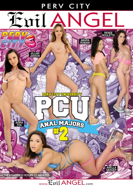 Perv City University Anal Majors #02 DVD Cover