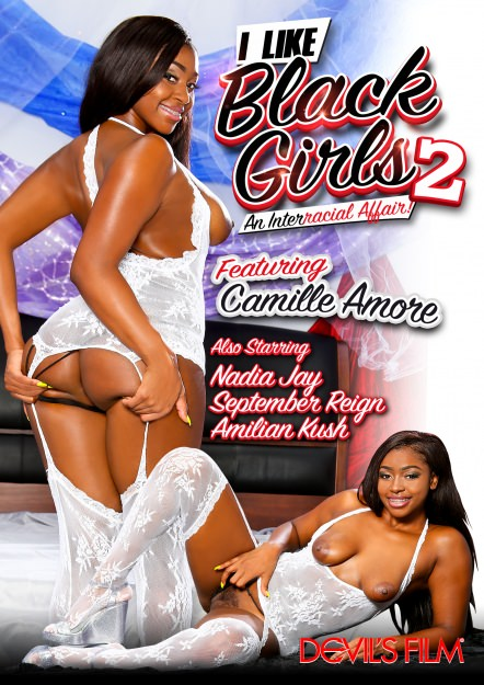 I Like Black Girls #02 Dvd Cover