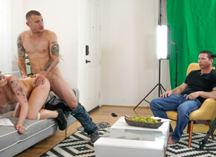 Two Cocks, One Hole: BTS Feature