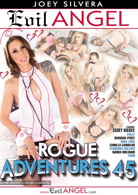 Rogue Adventures #45 DVD Cover