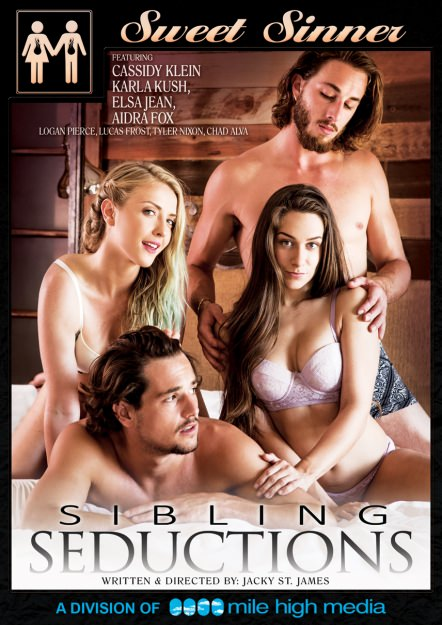 Sibling Seductions Dvd Cover