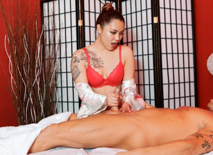 Asian Strip Mall Massage #03, Scene #01