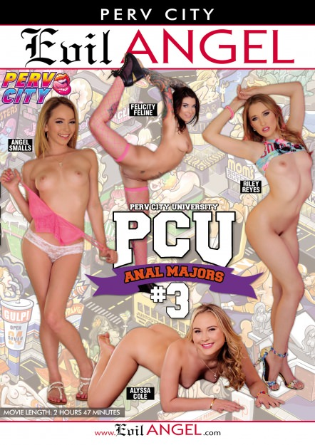 Perv City University Anal Majors #03 DVD Cover