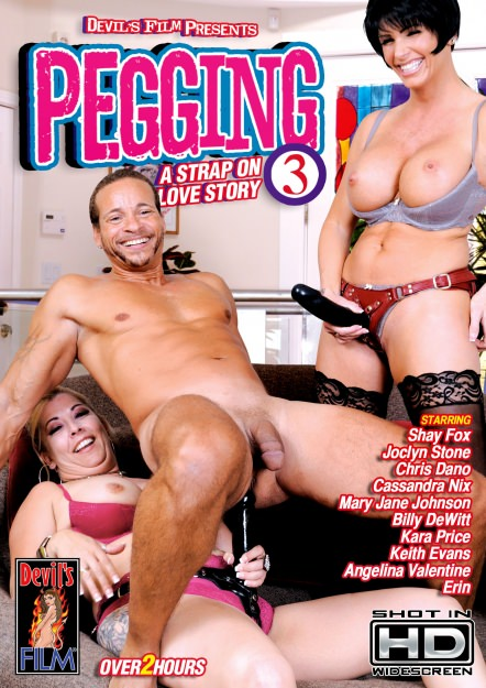Pegging - A Strap On Love Story #03 Dvd Cover