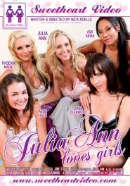 Julia Ann Loves Girls DVD Cover