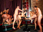 Bachelor Party Orgy #03, Scene #01