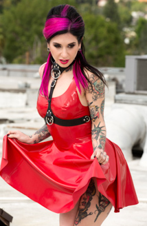 Red Latex Picture
